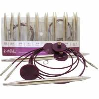 KNIT PICKS kit aiguilles circulaires interch. metal 9291999