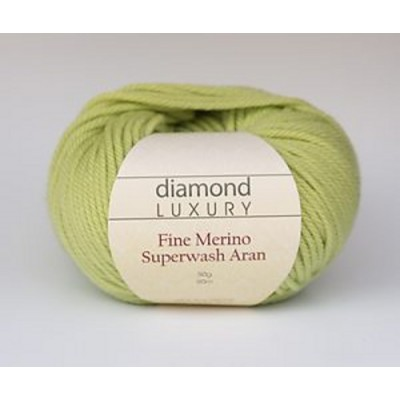 DIAMOND LUX COL FINE MERINO SUPERWASH ARAN