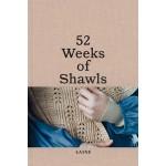 LIVRE52 WEEKS OF SHAWLS