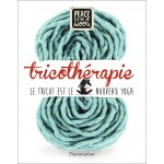 LIVRE PEACE AND WOOL TRICOTHERAPIE