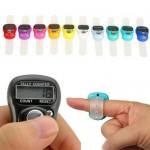 Compteur numérique digital au doigt